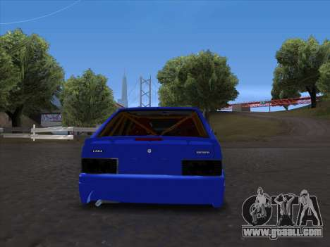 VAZ 2114 Sport for GTA San Andreas back view