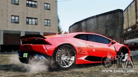 Lamborghini Huracan LB for GTA 4 right view