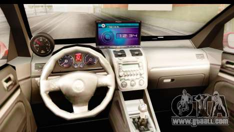 Volkswagen Golf GTI for GTA San Andreas inner view