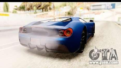 GTA 5 Vapid FMJ SA Style for GTA San Andreas left view