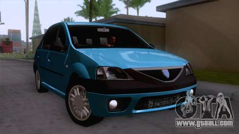 Dacia Logan Prestige 1.6L 16V for GTA San Andreas right view