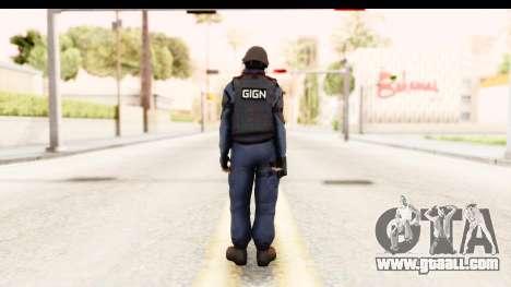 CS:GO - GIGN for GTA San Andreas third screenshot