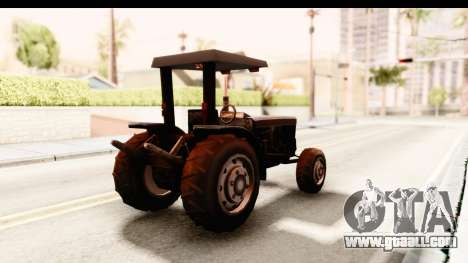 Modern Tractor for GTA San Andreas right view