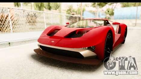 GTA 5 Vapid FMJ IVF for GTA San Andreas
