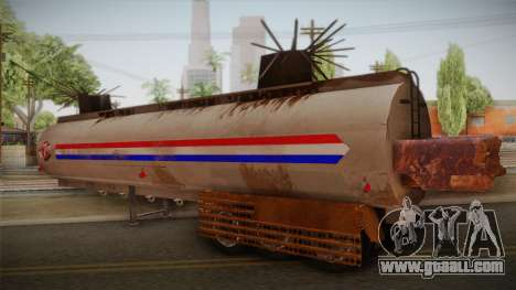 Mack R600 v2 Trailer for GTA San Andreas left view