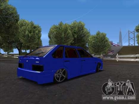 VAZ 2114 Sport for GTA San Andreas inner view