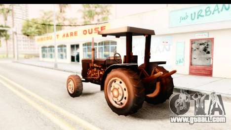 Modern Tractor for GTA San Andreas left view