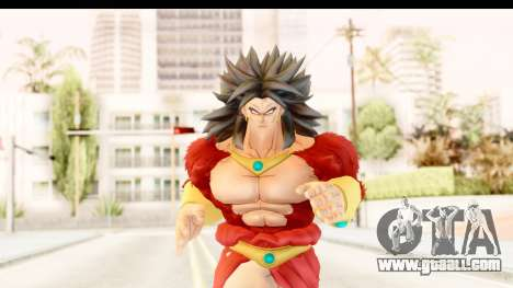 Dragon Ball Xenoverse Broly SSJ4 for GTA San Andreas