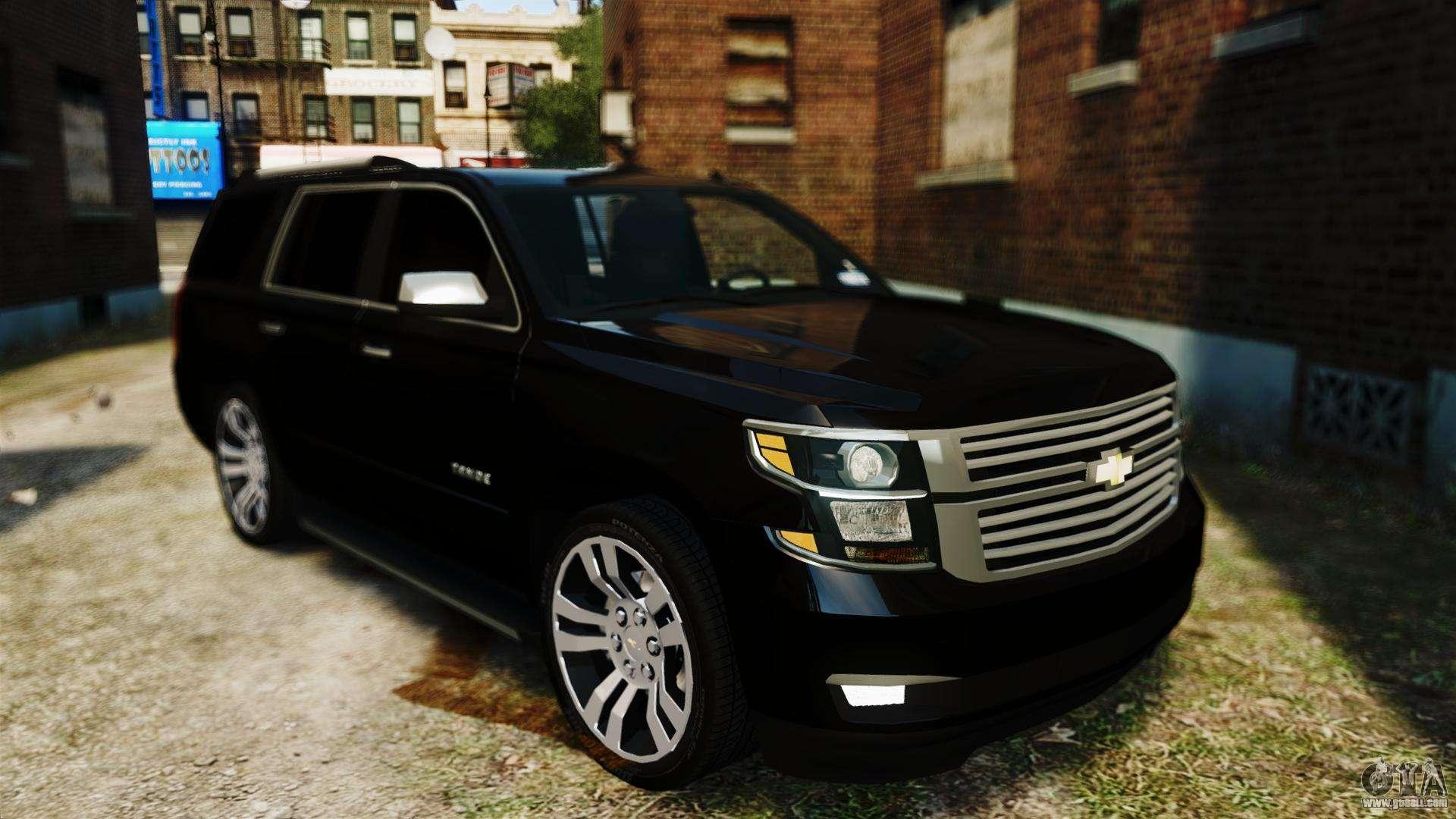 Chevrolet Tahoe 2015 V1.1 for GTA 4