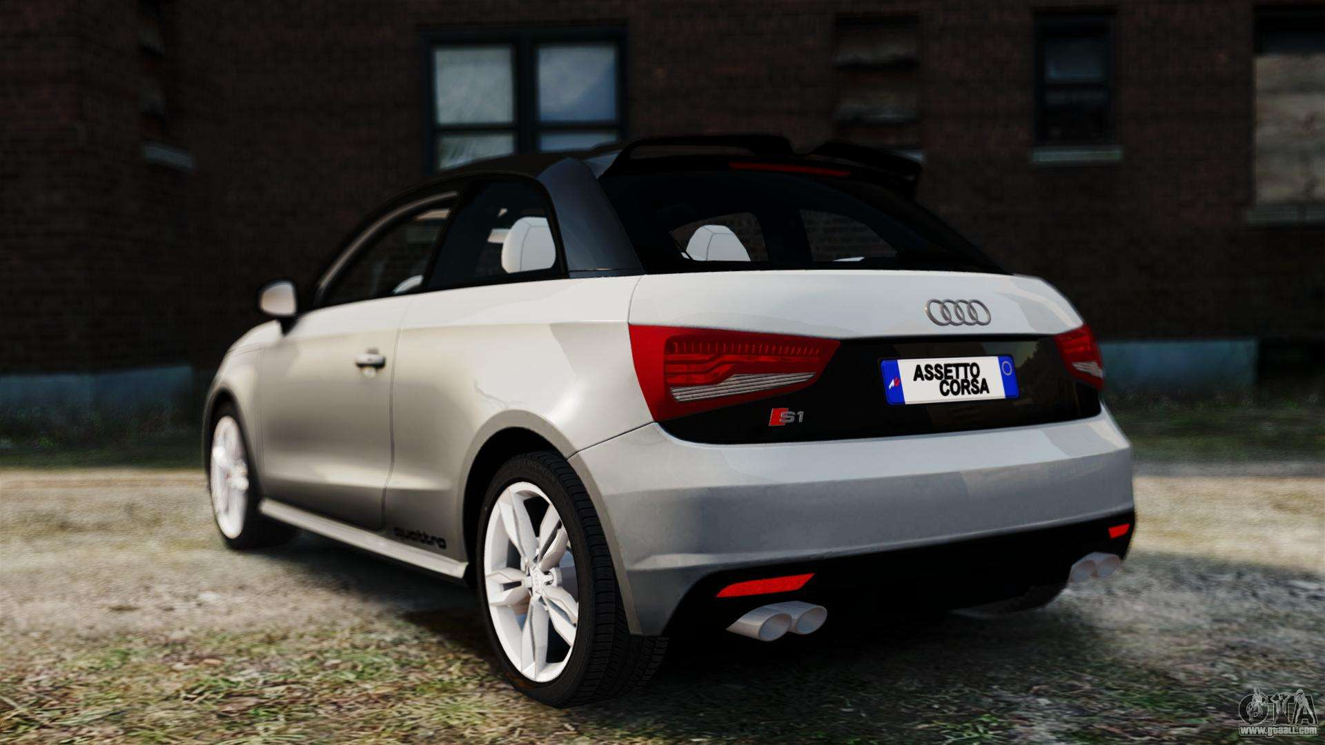 audi s1 quattro 2015 for gta 4. Black Bedroom Furniture Sets. Home Design Ideas