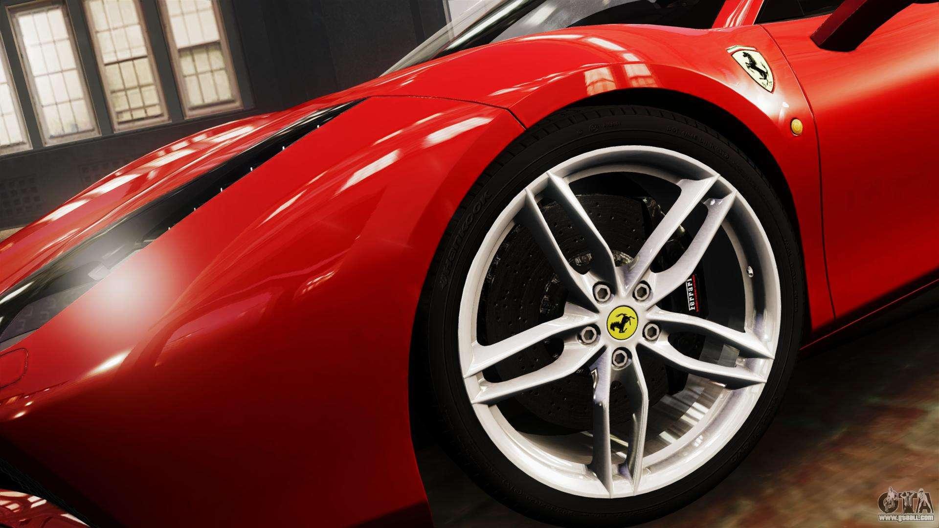 Ferrari 488 GTB 2016 for GTA 4