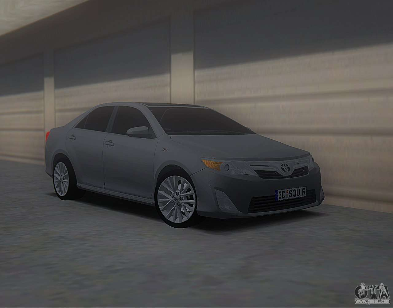 toyota camry 2013 usa for gta san andreas. Black Bedroom Furniture Sets. Home Design Ideas