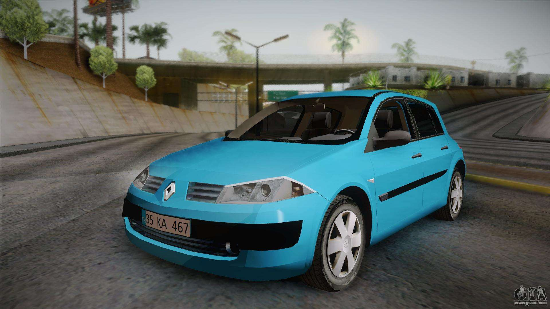 renault megane 2 hatchback v2 for gta san andreas. Black Bedroom Furniture Sets. Home Design Ideas