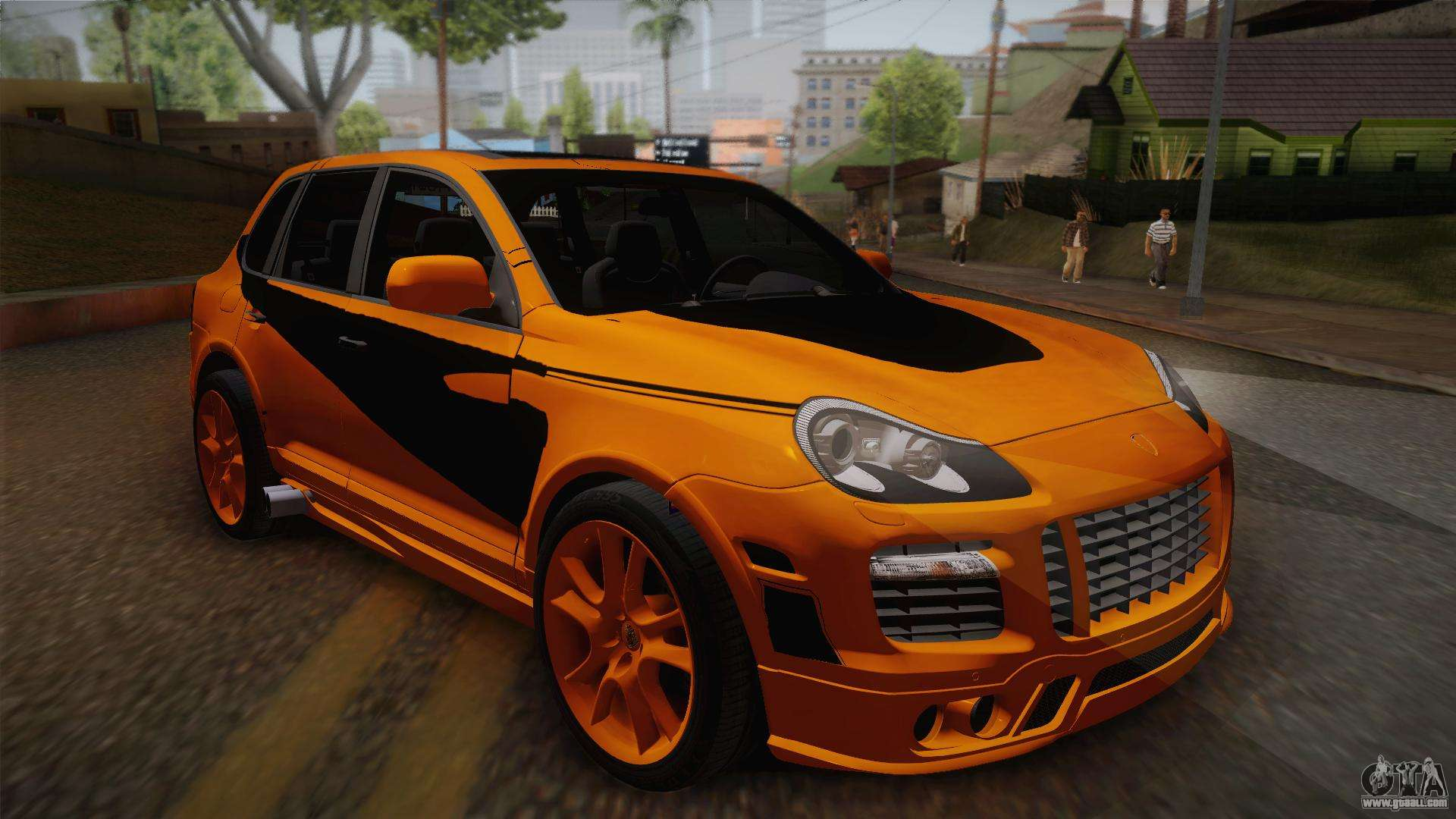 porsche cayenne 2007 tuning for gta san andreas. Black Bedroom Furniture Sets. Home Design Ideas