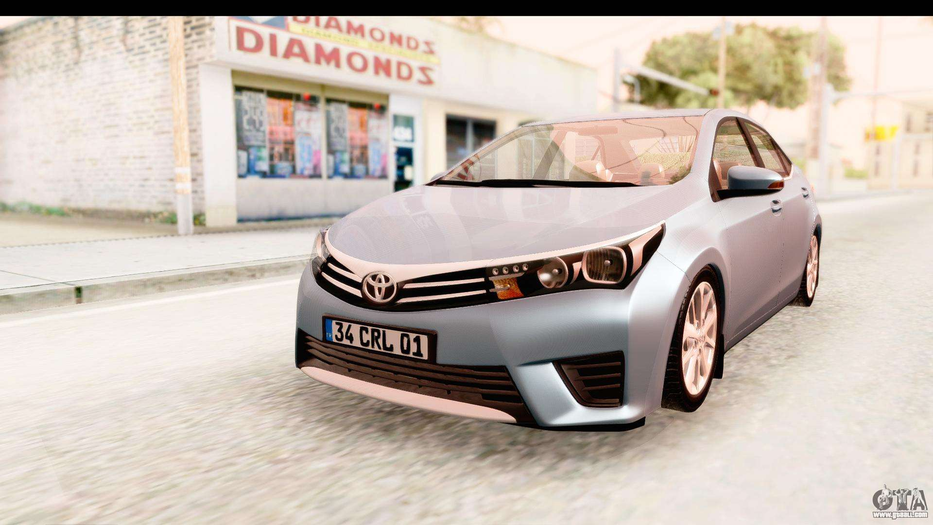 Toyota Corolla For Gta San Andreas Rxi 20v Modified Cars Pictures 2014 Ivf