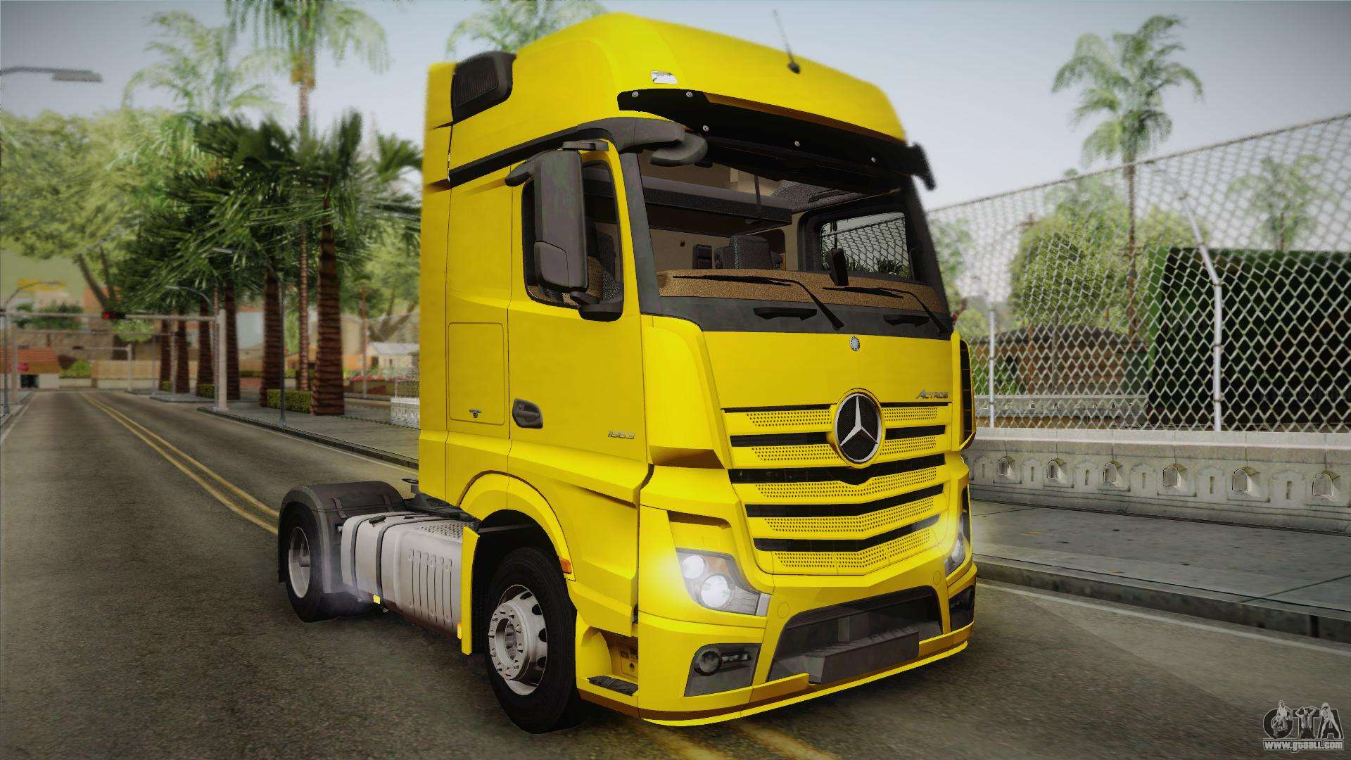 mercedes benz actros mp4 4x2 v2 0 gigaspace v2 for gta san. Black Bedroom Furniture Sets. Home Design Ideas
