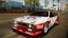 Lancia Rally 037 Stradale (SE037) 1982 IVF Dirt3 for GTA San Andreas