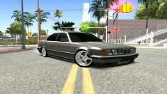 BMW 535i E34 silver for GTA San Andreas