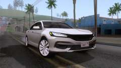 Honda Accord 2017 Stock for GTA San Andreas