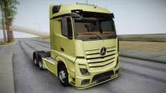 Mercedes-Benz Actros Mp4 6x4 v2.0 Steamspace for GTA San Andreas