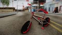 Dark Red BMX for GTA San Andreas