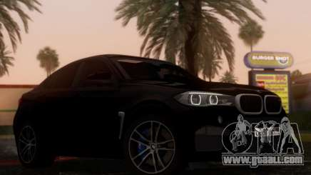 BMW X6M BULKIN SAMP EDITION for GTA San Andreas