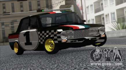 VAZ 2101 is a Racing Car for GTA San Andreas