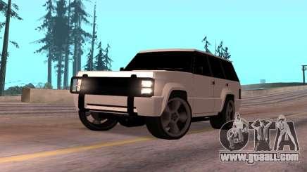 Huntley Rover for GTA San Andreas