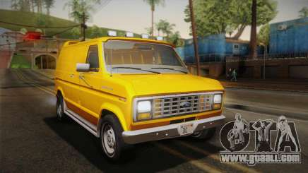 Ford E-150 Commercial Van 1982 2.0 IVF for GTA San Andreas