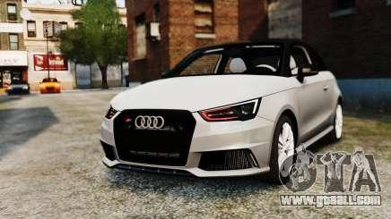 Audi S1 Quattro 2015 for GTA 4