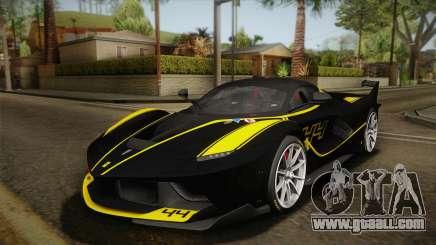 Ferrari FXX-K 2015 PJ for GTA San Andreas