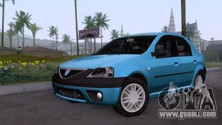 Dacia Logan Prestige 1.6L 16V for GTA San Andreas