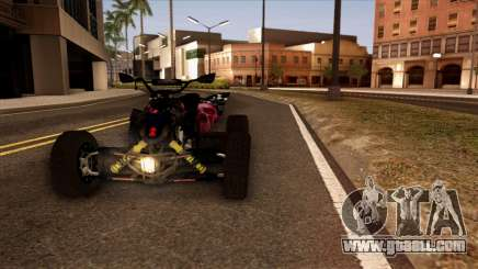 Quad Graphics Skull for GTA San Andreas