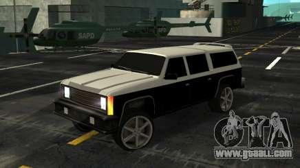FBI Rancher Tuning for GTA San Andreas