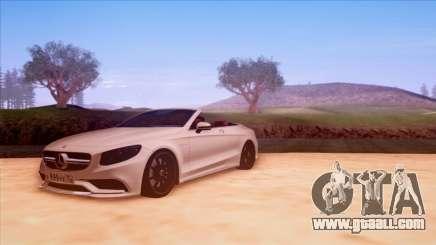 Mercedes-Benz S63 for GTA San Andreas