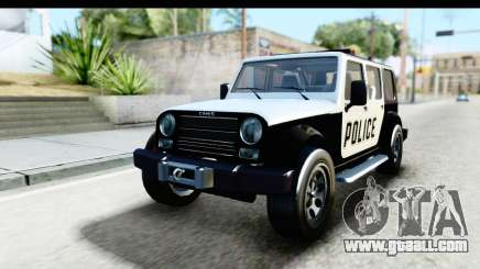 Canis Mesa Police for GTA San Andreas
