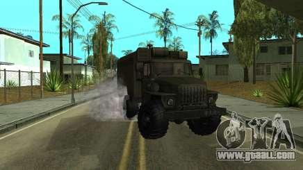 Ural 4320 Armenian for GTA San Andreas
