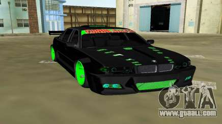 BMW 750 E38 Hamann Turbo Sports for GTA Vice City