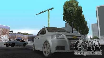 Chevrolet Aveo Armenian for GTA San Andreas