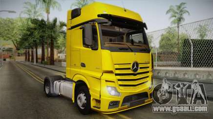 Mercedes-Benz Actros Mp4 4x2 v2.0 Gigaspace v2 for GTA San Andreas