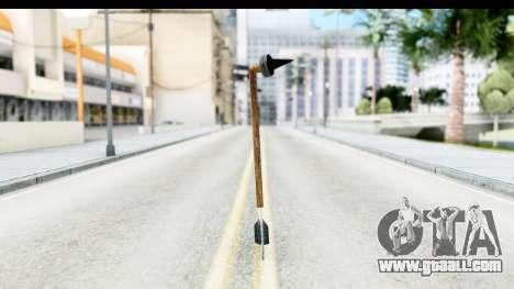 Star Wars Tusken Gaderffii for GTA San Andreas second screenshot