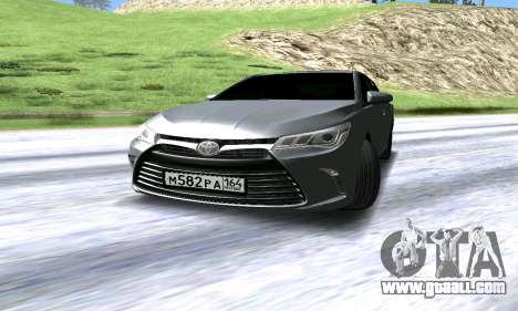 Toyota Camry for GTA San Andreas left view