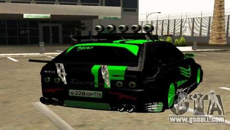 VAZ 2114 DTM GTR TURBO SPORTS AMG for GTA San Andreas back left view
