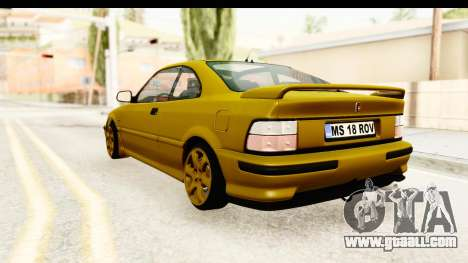 Rover 220 Gold Edition for GTA San Andreas left view