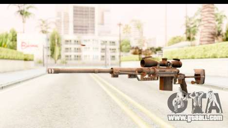 Cheytac M200 Intervention Black for GTA San Andreas