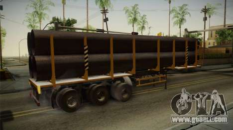 MAZ 99864 Trailer v3 for GTA San Andreas
