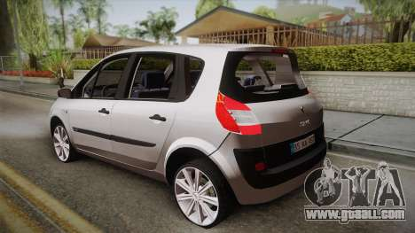 Renault Scenic II for GTA San Andreas left view