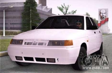 Lada 2112 Runoff for GTA San Andreas