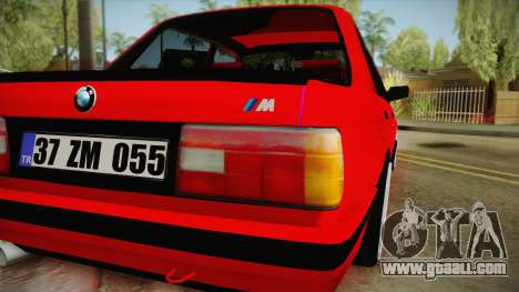 BMW M3 E30 Sedan for GTA San Andreas right view