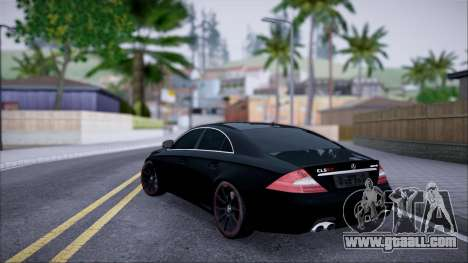 Mercedes-Benz Cls 630 for GTA San Andreas left view